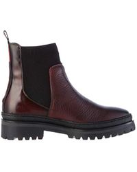 Tommy Hilfiger Multicolor Corporate Ribbon Chelsea Ankle Boots