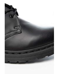 Dr. Martens Unisex's 1461 Mono Smooth Black Oxford for men