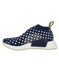 Adidas Originals Blue Nmd_cs2 Pk W Running Shoe