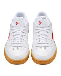 Reebok Sneaker Club C 85 MU EF8841 Weiß in Multicolor für Herren