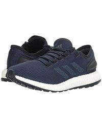Adidas Blue Performance Pureboost Running Shoe for men