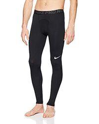 M NP Tght di Nike in Black da Uomo