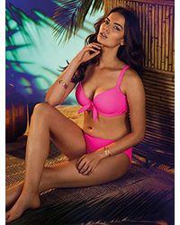 Freya Purple Deco Underwire Molded Bikini Top