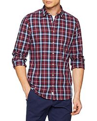 Marc O'polo Red 826720342262 Casual Shirt for men