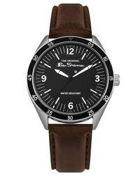 Analogique Classique Quartz Montre avec Bracelet en PU BS011EBR Ben Sherman pour homme en coloris Black