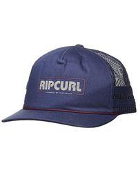 Rip Curl Blue Big Rig Trucker for men