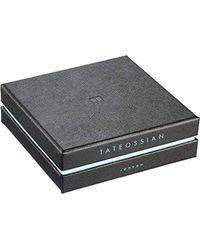 Tateossian - Brown Silver Tobacco Scoubidou Double Bracelet for Men - Lyst
