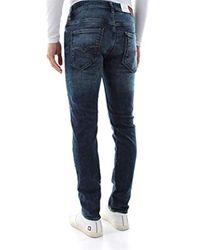 Miami Jeans Slim Uomo di Guess in Blue da Uomo