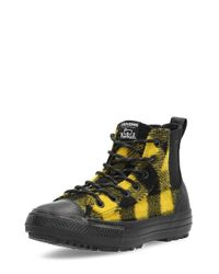 CTAS Chelsea Boot Ladies Trainers Black/Yellow Converse