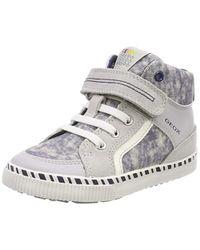 B Kilwi PA, Zapatillas para Bebés, Gris (Lt Grey/White C1303), 24 EU Geox de color Gray