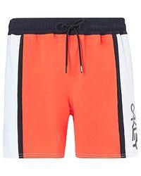 Oakley Orange B1b Color Block Beachshort 16 for men