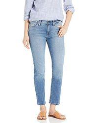 Hudson Blue Jeans Nico Midrise Cigarette 5 Pocket Jean, Lo-fin, 27
