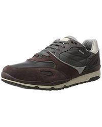 Geox Herren U Sandford B ABX A Sneaker, Marine-Anthrazit in Multicolor für Herren