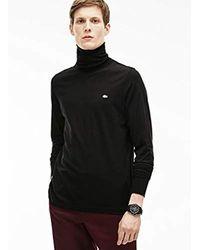 Pull Lacoste pour homme en coloris Black
