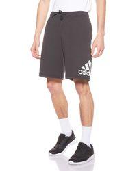 Adidas Mh Bos Short Sj Shorts Black for men