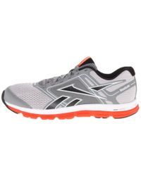Reebok Gray Dual Turbo Fire Running Shoe for men