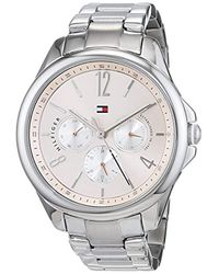 Tommy Hilfiger Multicolor S Multi Dial Quartz Watch With Stainless Steel Strap 1781826