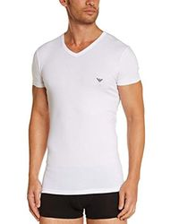 T-Shirt - Uni Emporio Armani pour homme en coloris White