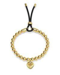Guess Metallic Be My Friend Bracelet Gold