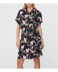 Vero Moda Black 10227837 Caftans/shirt Nero/rosa Xl