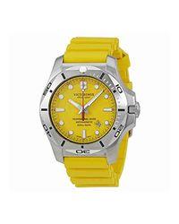 Victorinox Metallic Inox Pro Diver Watch, 45mm for men