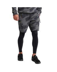 Core Gym Tech Pantalon Asphalt Marl/Sketch Camo XXL Superdry pour homme en coloris Multicolor