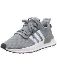 U_Path Run di Adidas in Gray da Uomo