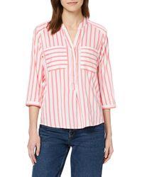 Vmerika Stripe 3/4 Shirt Top E10 Noos Camicia di Vero Moda in Multicolor