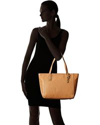 Fossil Brown Emma Tote Bag