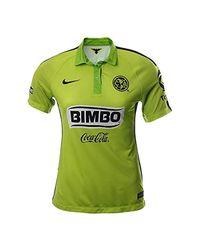 Nike Green Club America Third Jersey (xl) Lemon for men