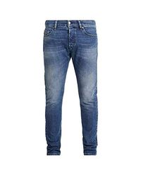 D-Luster Jeans Hommes Blu / 0095k - IT 40/42 (US 31/32) - Jeans Slim di DIESEL in Blue da Uomo