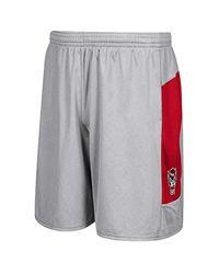 Adidas Gray Ncaa North Carolina Sideline Short Wp for men
