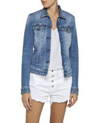 Wa7651.000.419s450 Giacca in Jeans di Replay in Blue