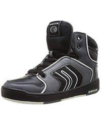 Geox Jungen Jr Oracle Sneaker in Black für Herren