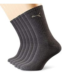 Socks Sport 3p di PUMA in Gray da Uomo