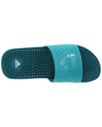 072ce8232c1c Lyst - Adidas Performance Voolossage Sandals in Green for Men