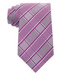 Sean John - Purple Wear Grid Tie for Men - Lyst