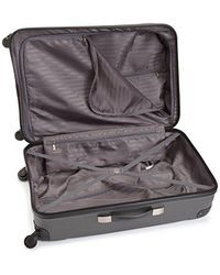 Kenneth Cole Reaction Gray Out Of Bounds 28 Inch 4-wheel Upright Luggage for men