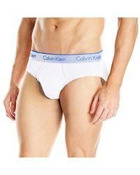 CALVIN KLEIN 205W39NYC - White Underwear Air Fx Micro Hip Brief for Men - Lyst