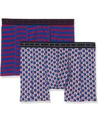 Boxer Short in Colourful all-Over Print Stripe, Uomo, Multicolore (Combo B 0218), Medium di Scotch & Soda in Blue da Uomo