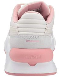 RS 9.8 Space Fashion Sneakers Pastel Parchment/ White 7 PUMA