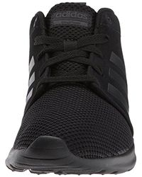 Adidas Black Neo Cf Qt Racer Mid W Running-shoes, Grey Two/grey Three/crystal White