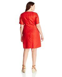 Pendleton - Red Plus-size Lora Dress - Lyst