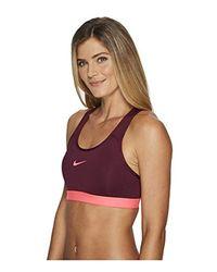 Pro Classic Reggiseno sportivo Donna di Nike in Pink