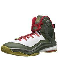 Adidas - Green D Rose 5 Boost Basketball Shoe for Men - Lyst