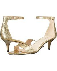 Nine West Metallic Leisa Synthetic Dress Sandal