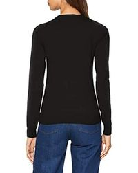 Jumpers Felpa Donna di Love Moschino in Black