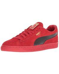 big sale 518c2 60075 Men's Red Ferrari Suede 50 Sneaker