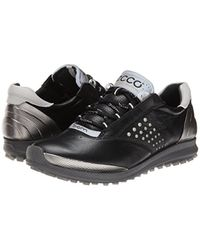Ecco Black Biom Hybrid 2 Golf Shoe