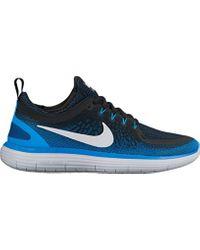 Free Run Distance 2, Chaussures de Running Nike pour homme en coloris Blue